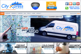 City Xpress - Website Development