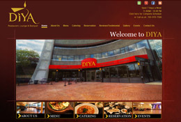 Diya Tysons - Website Management