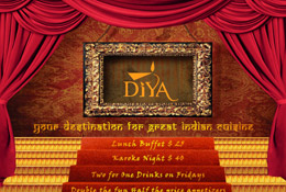 Diya Tysons - Promotional Flyer